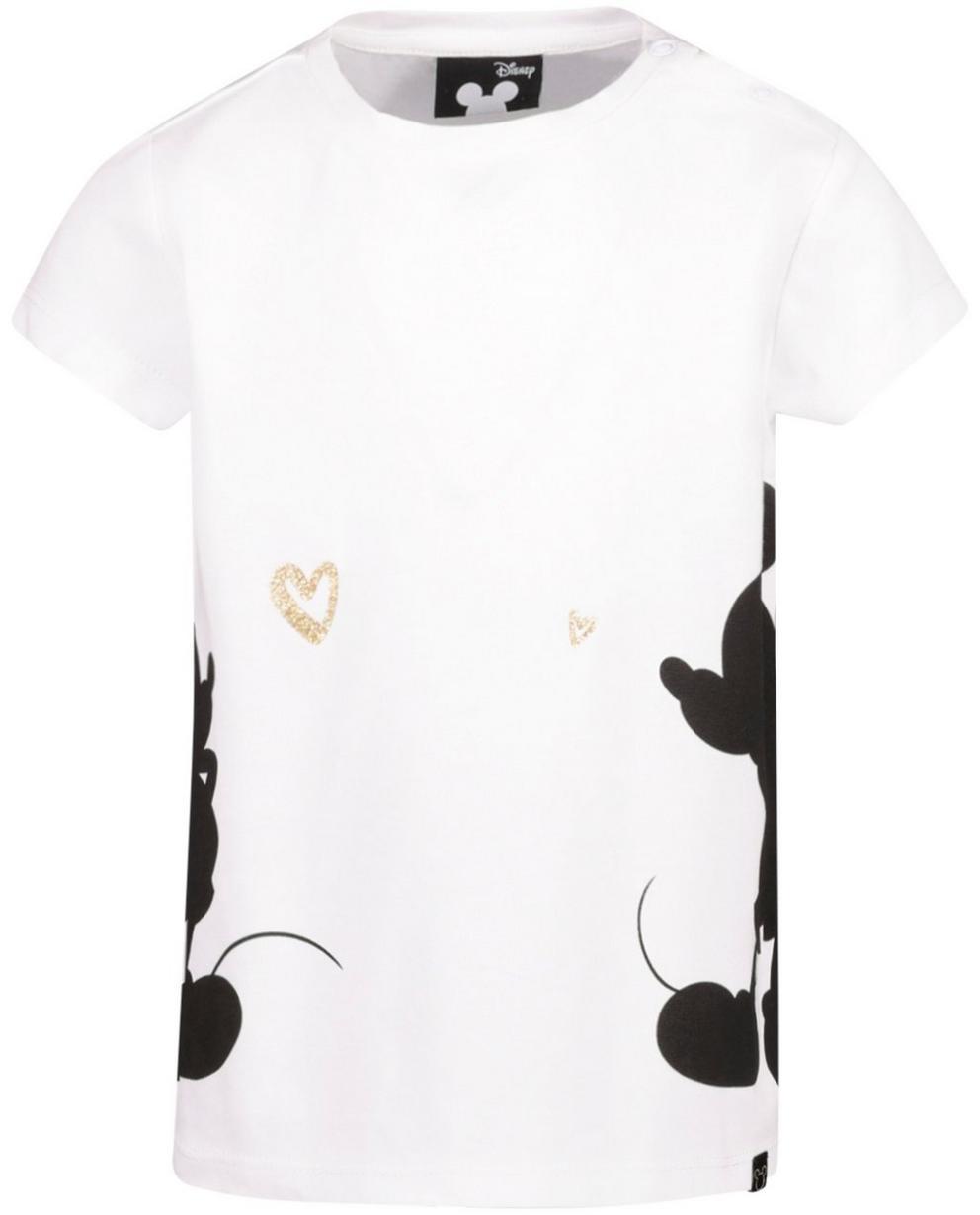 T-Shirts - Weiss - T-Shirt mit Glitzer-Print